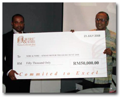 Contributions to the ATMAH Foundation